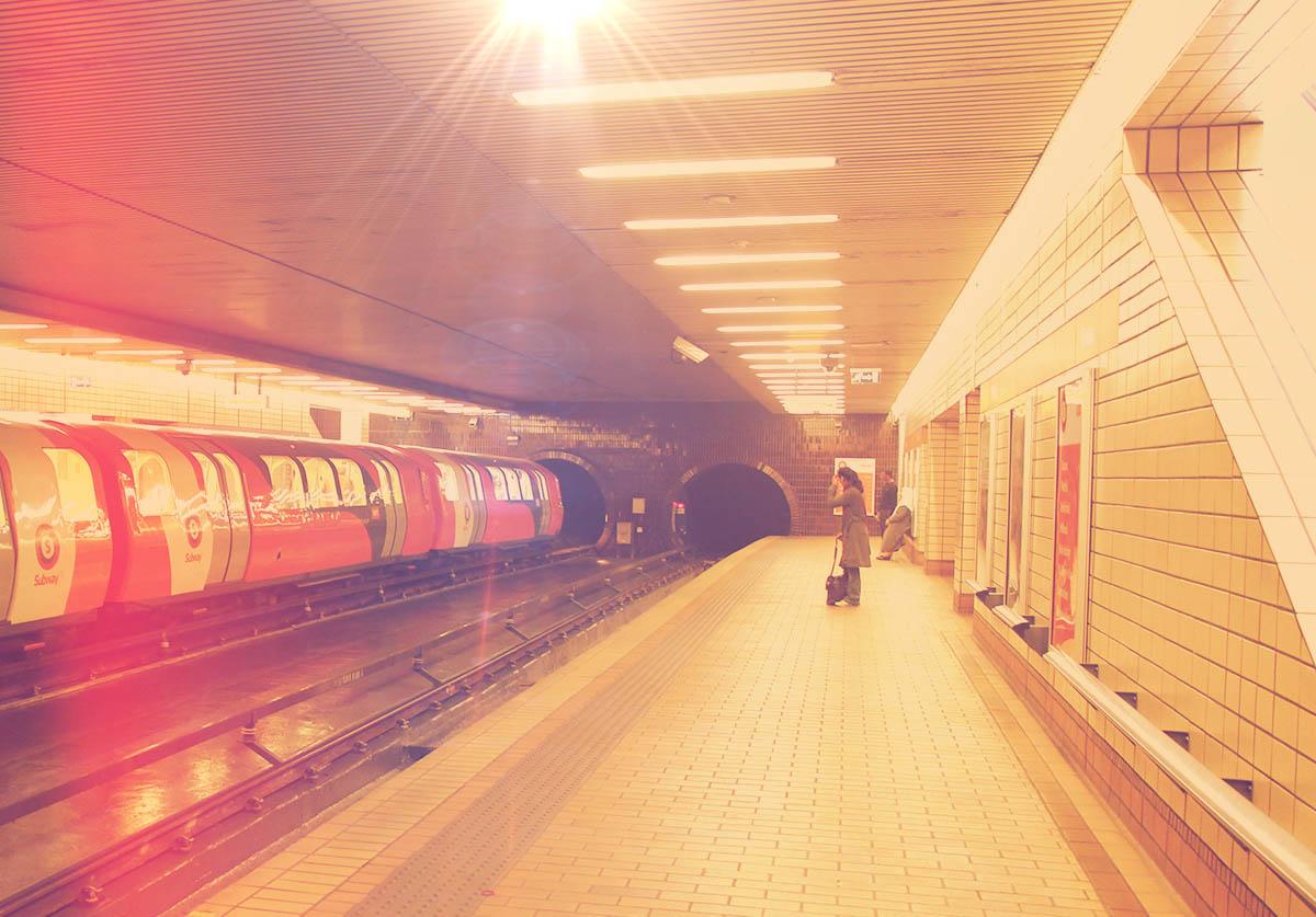 Govan Station Platform