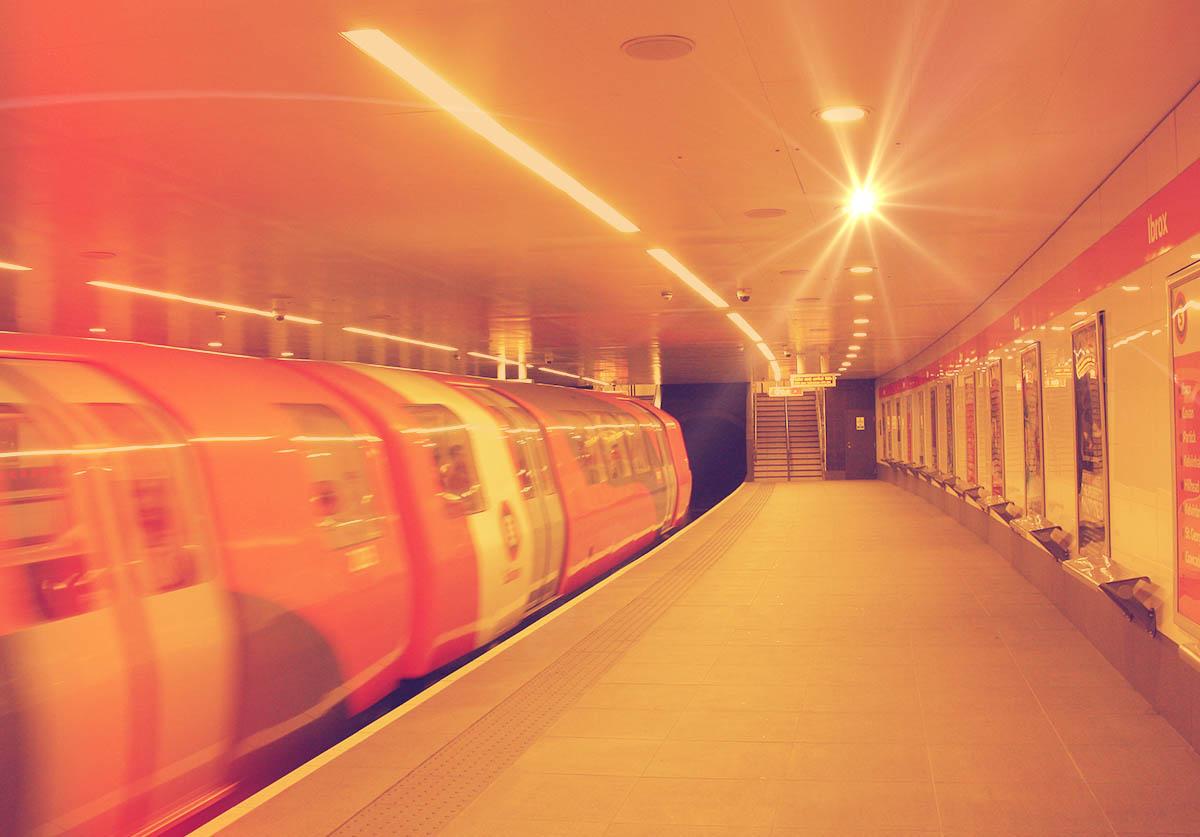 Ibrox Subway Platform