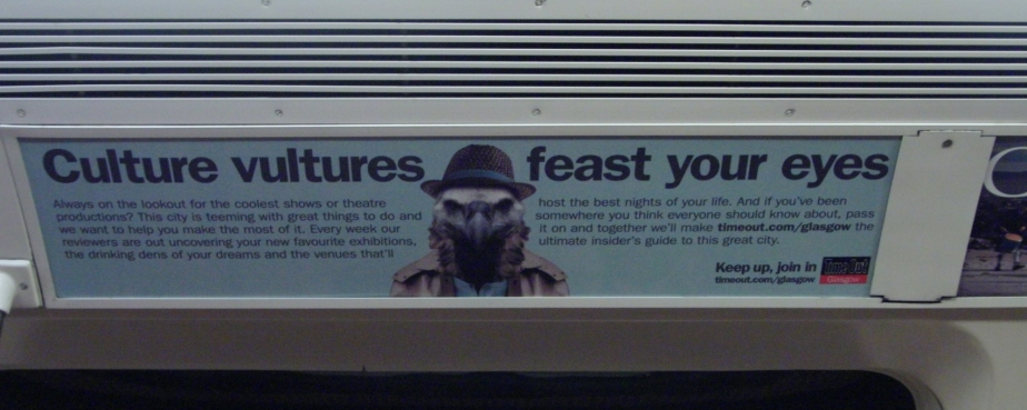 Adverts of the Subway – Timeout